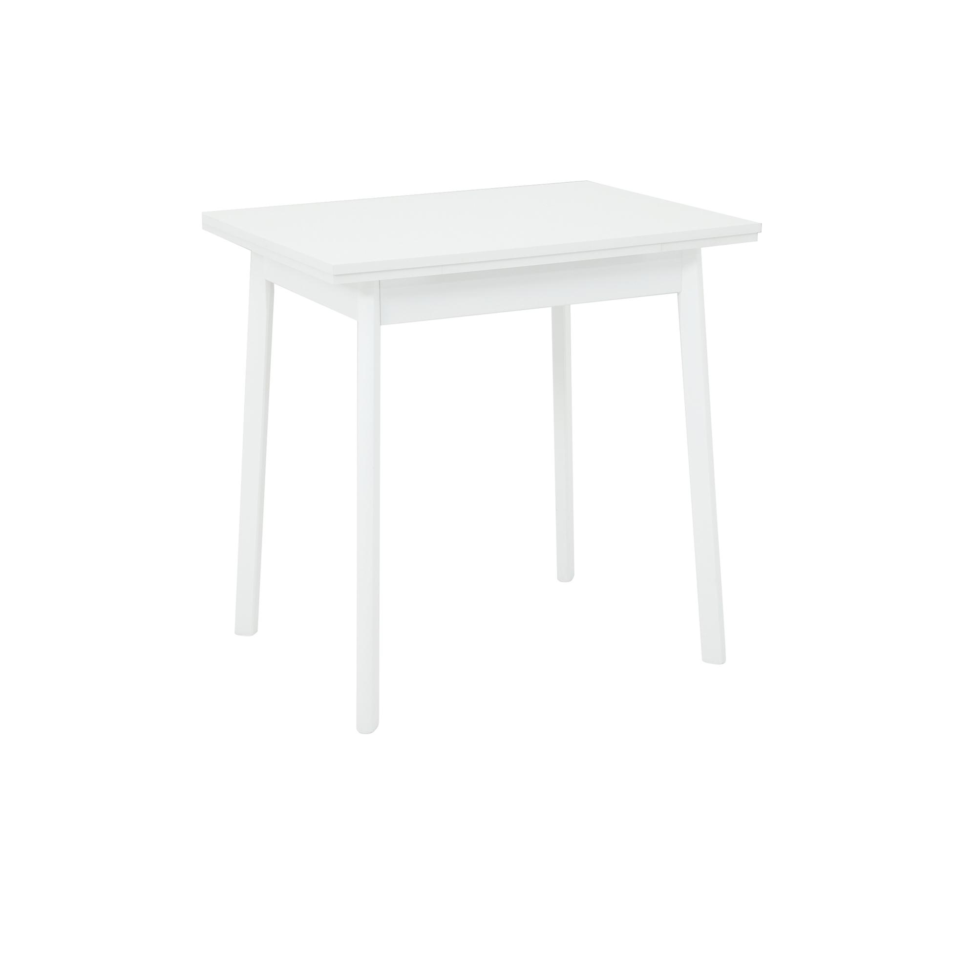 Esstisch TRIER II Tischplatte ausziehbar 75 x 55 cm