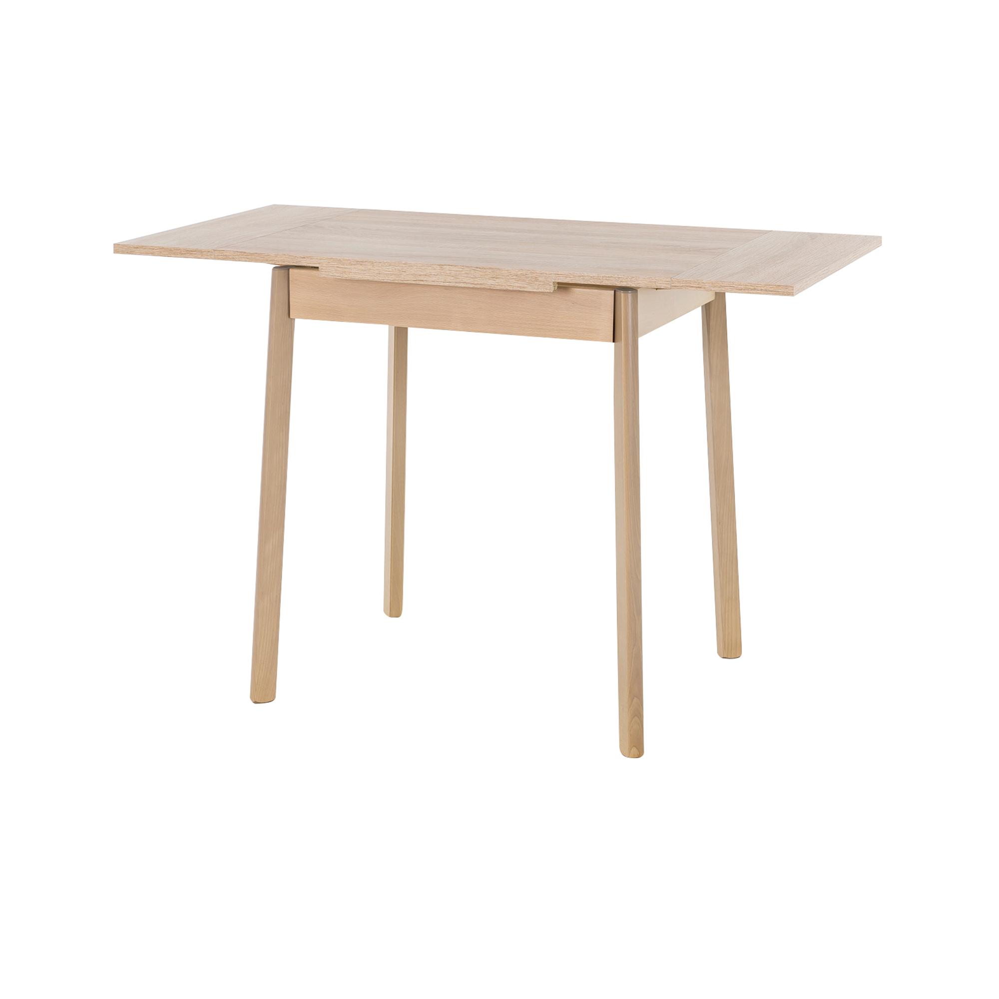 esstisch trier ii tischplatte ausziehbar 75 x 55 cm eiche sonoma wohnen esstische. Black Bedroom Furniture Sets. Home Design Ideas