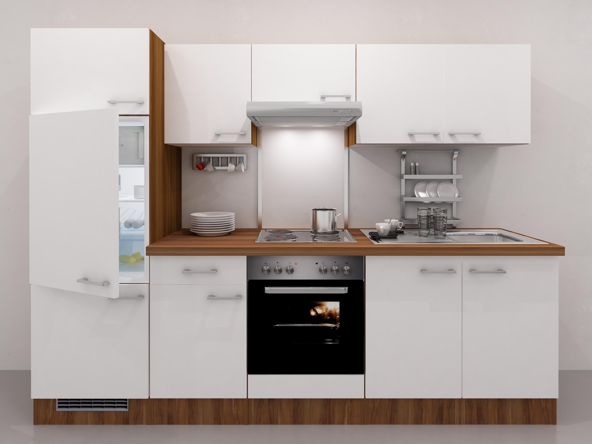 Küchen Unterschrank COSMO 1 türig 30 cm breit