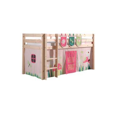 "Spielbett PINO ""Spring"" 3 - Liegefläche 90 x 200 cm - Kiefer Massiv"