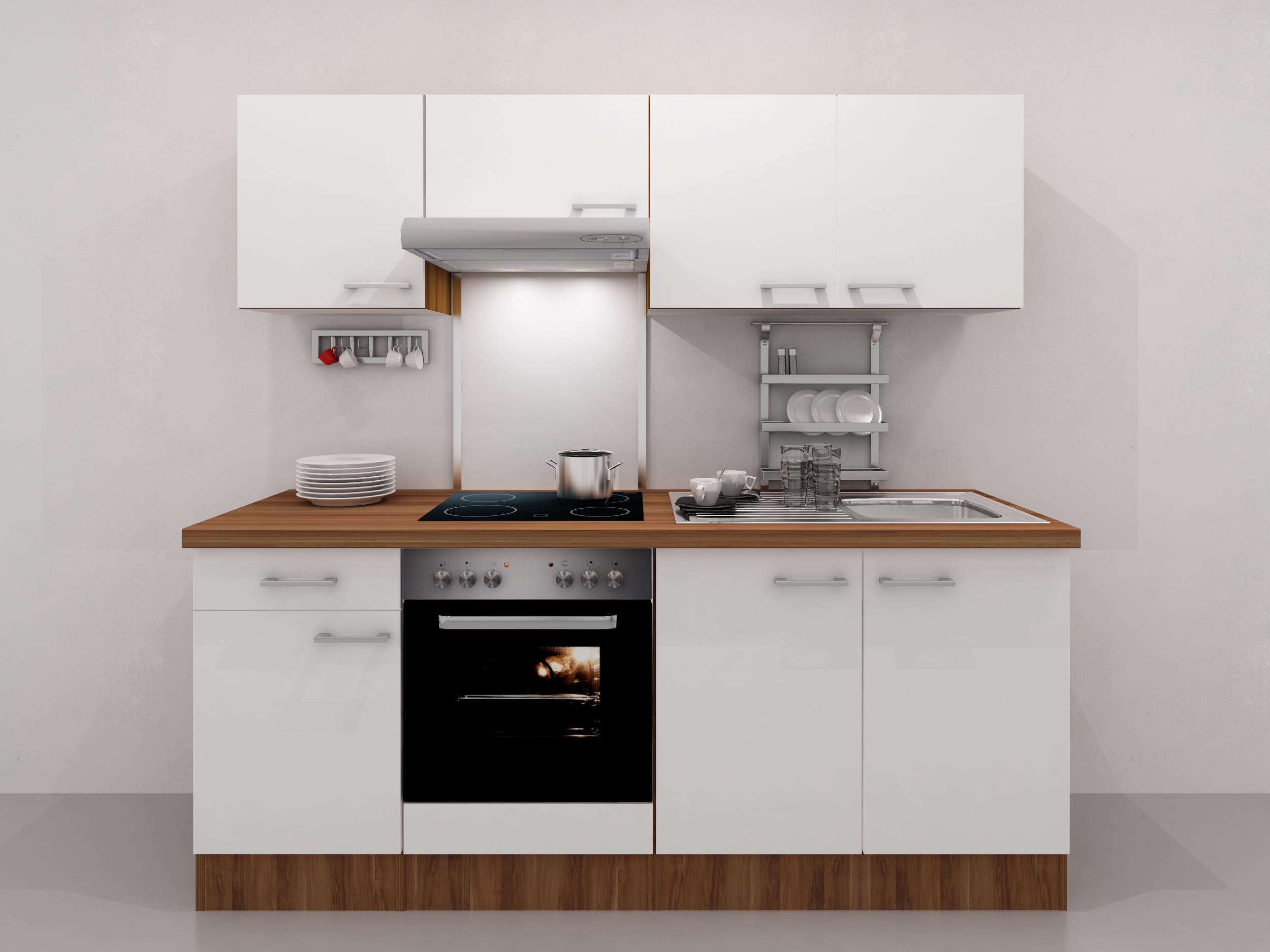 k chen sp lenschrank cosmo 2 t rig 100 cm breit. Black Bedroom Furniture Sets. Home Design Ideas