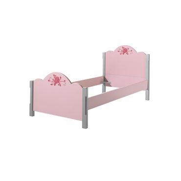 Einzelbett CINDY - Liegefläche 90 x 200 cm - Rosa