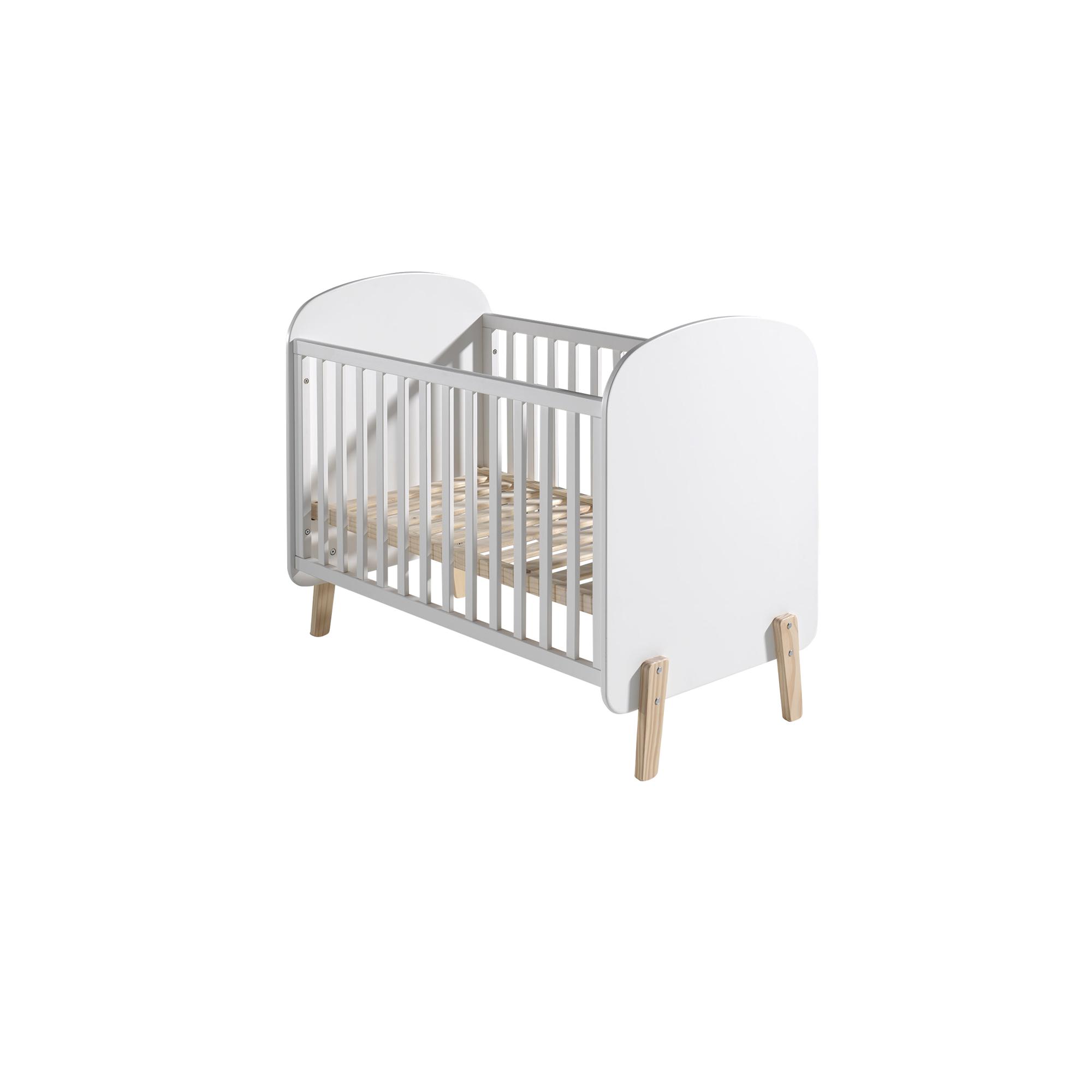 babybett kiddy liegefl che 60 x 120 cm wei kinder jugendzimmer kiddy. Black Bedroom Furniture Sets. Home Design Ideas