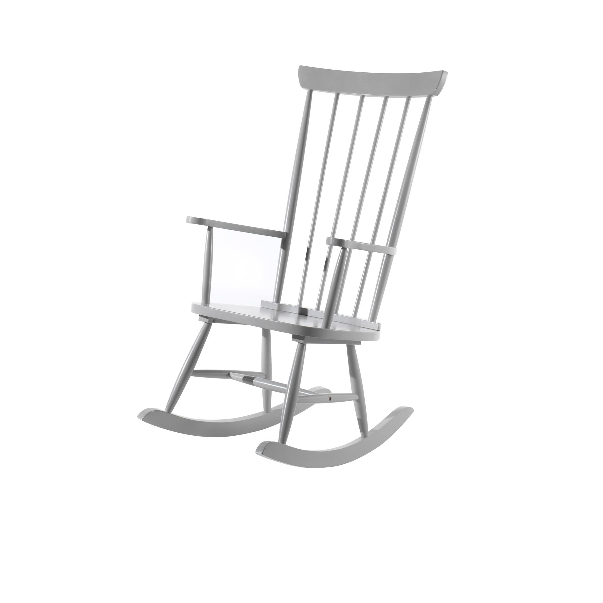 schaukelstuhl kiddy f r gro und klein hellgrau kinder beistellm bel. Black Bedroom Furniture Sets. Home Design Ideas