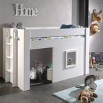 Spielbett NOAH - Liegefläche 90 x 200 cm - Weiß