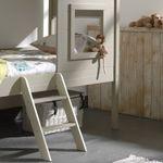 Hausbett CHARLOTTE - Liegefläche 90 x 200 cm - Grau