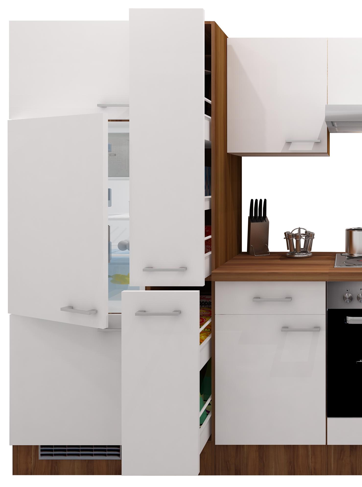 k chenzeile cosmo k che mit e ger ten 14 teilig. Black Bedroom Furniture Sets. Home Design Ideas