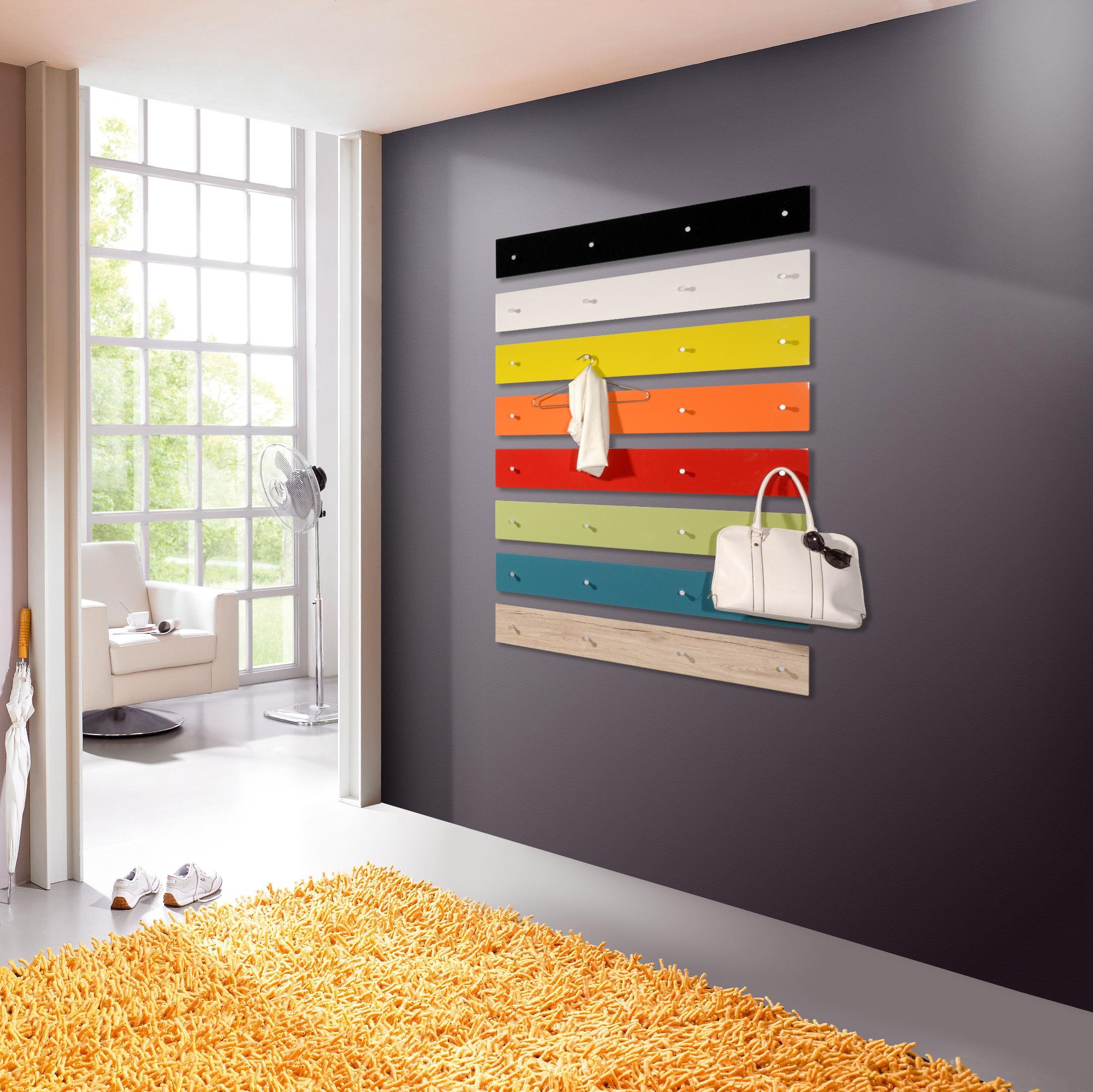 Garderobenpaneel potpourri diele flurgarderobe wandpaneel for Garderobenpaneel schwarz hochglanz