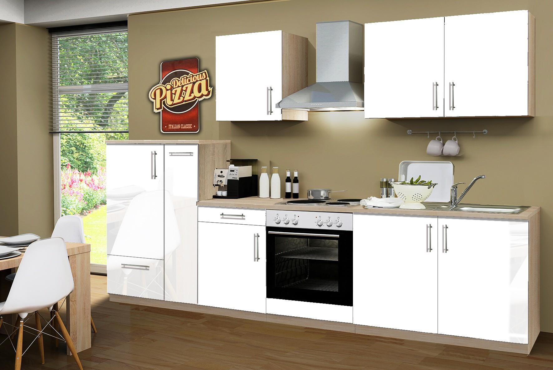 Awesome Küchenzeile Mit Elektrogeräten Günstig Gebraucht ...