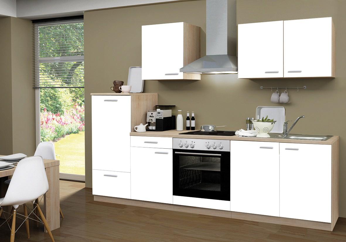Küchenzeile Göteborg Mit E Geräten Und Glaskeramikkochfeld