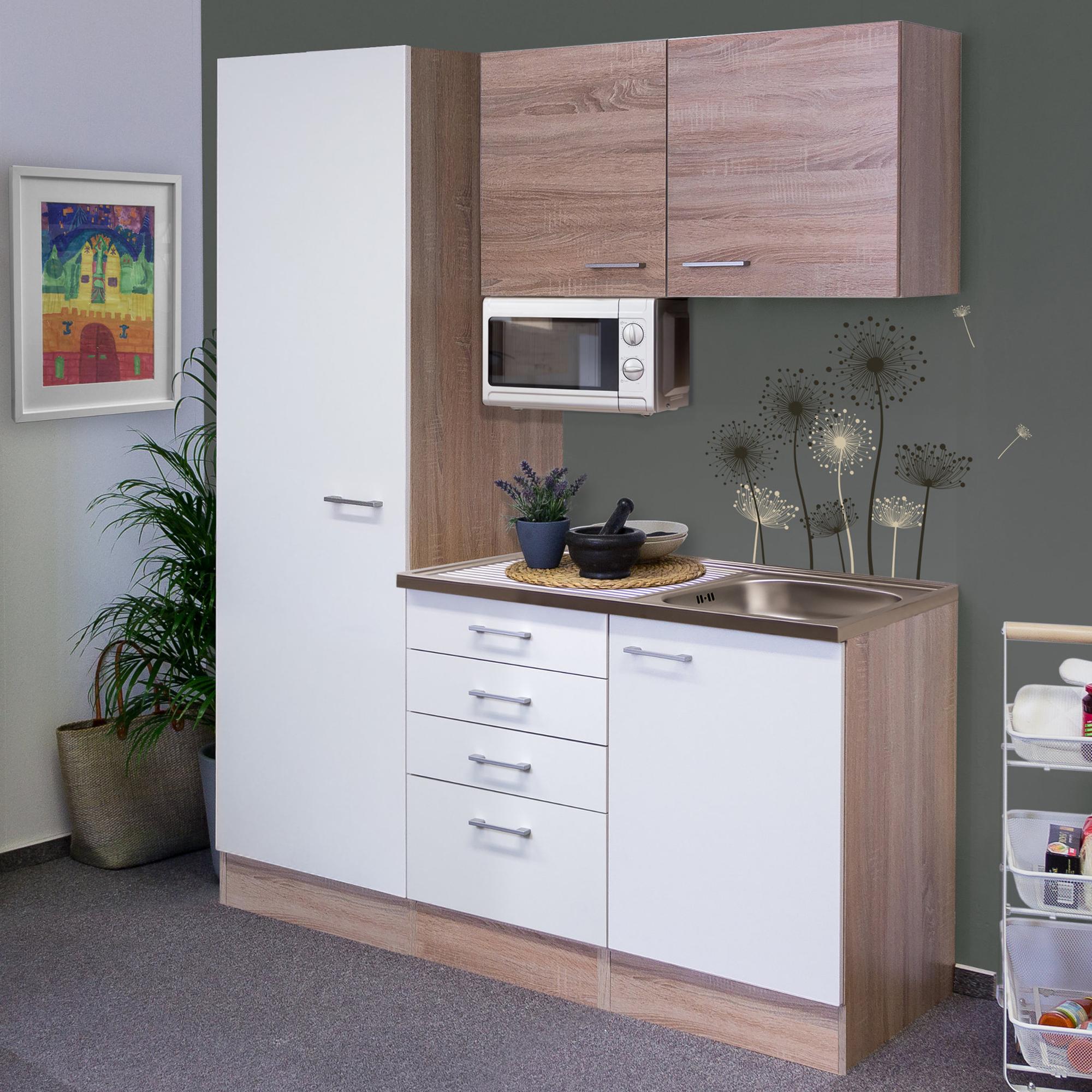 k chen hochschrank rom 1 t rig 50 cm breit wei k che hochschr nke. Black Bedroom Furniture Sets. Home Design Ideas