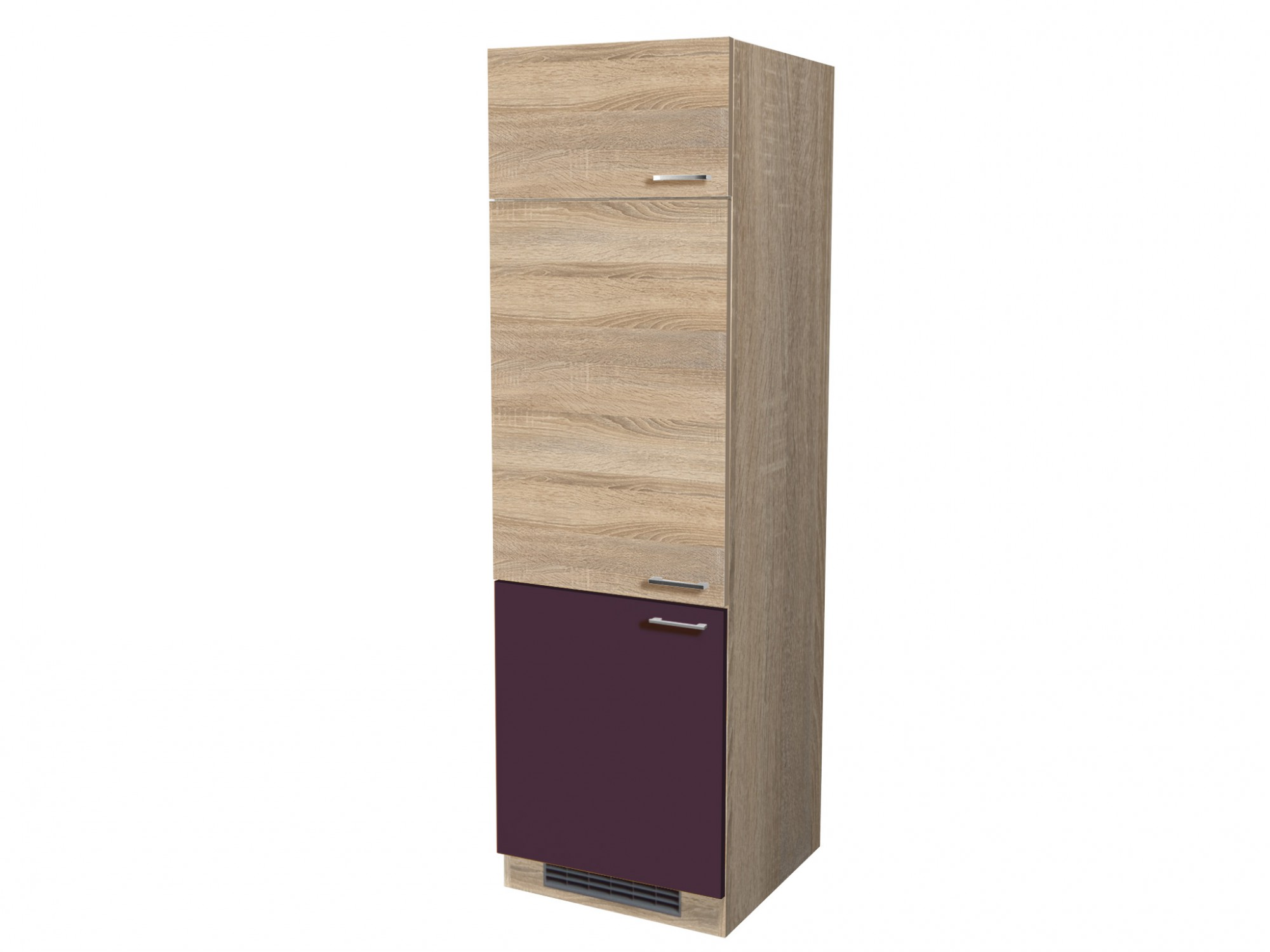k hlschrankumbau rom umbauschrank k chenschrank aubergine. Black Bedroom Furniture Sets. Home Design Ideas