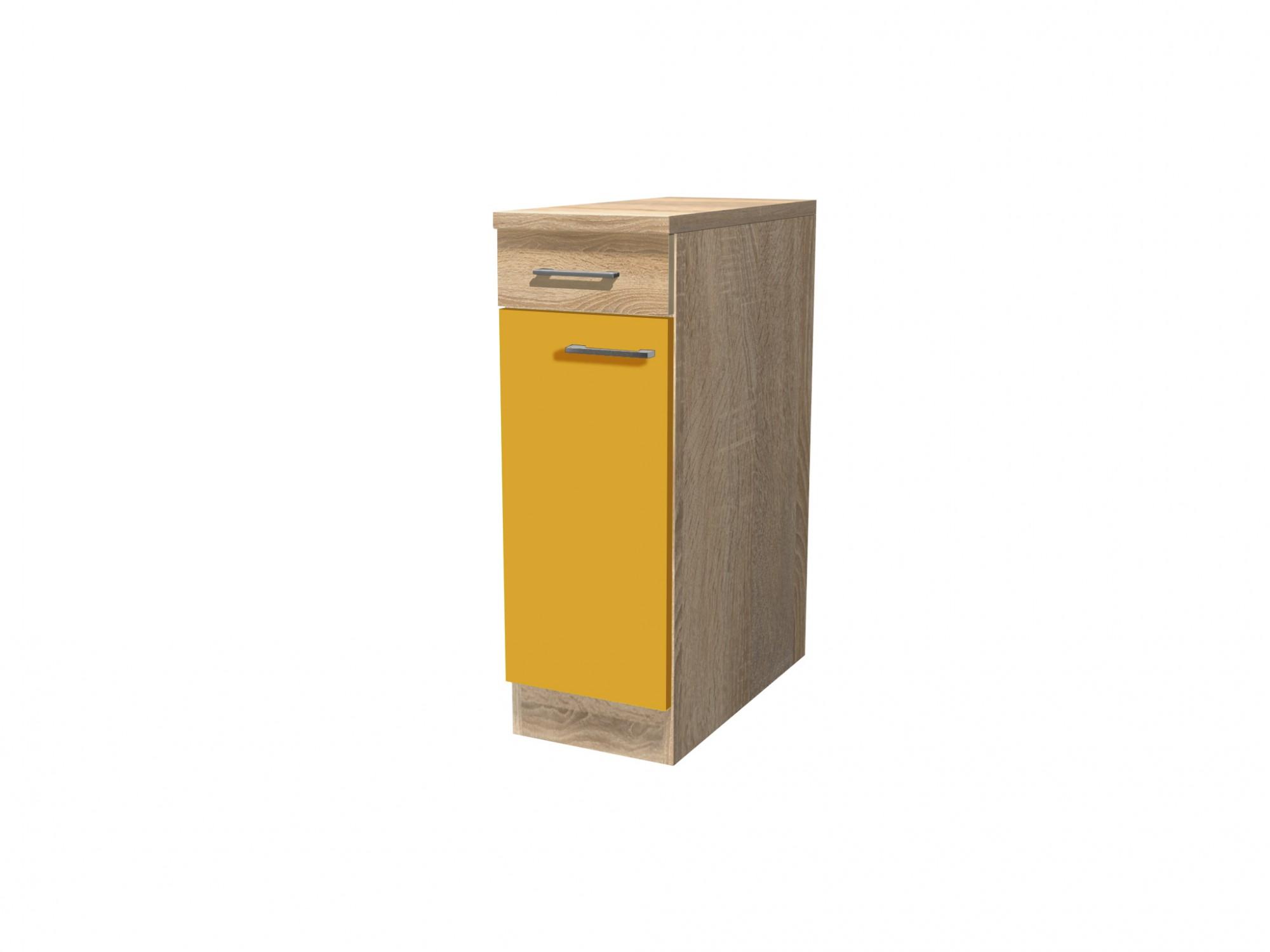 k chen unterschrank rom 1 t rig 30 cm breit gelb k che k chen unterschr nke. Black Bedroom Furniture Sets. Home Design Ideas