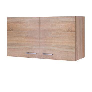 Küchen-Hängeschrank ROM - 2-türig - 100 cm breit - Eiche Sonoma
