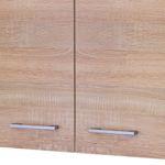 Küchen-Hängeschrank ROM - 2-türig - 80 cm breit - Eiche Sonoma