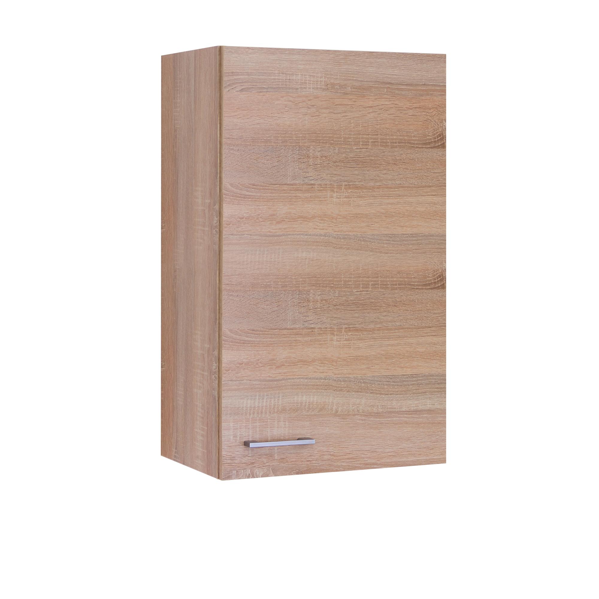 k chen h ngeschrank rom 1 t rig 50 cm breit 89 cm hoch eiche sonoma k che k chen. Black Bedroom Furniture Sets. Home Design Ideas