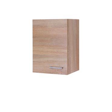 Küchen-Hängeschrank ROM - 1-türig - 40 cm breit - Eiche Sonoma