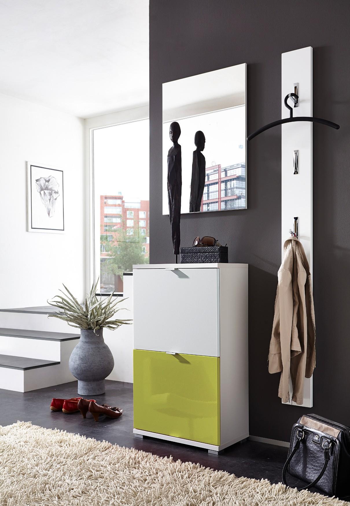 garderobe potpourri dielenset mit schuhschrank paneel und. Black Bedroom Furniture Sets. Home Design Ideas