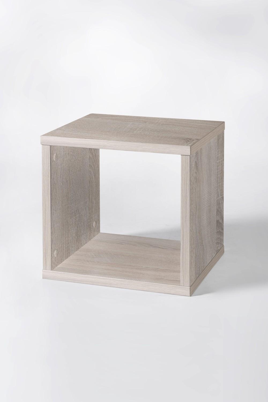w rfelregal maik 35 x 35 cm regalw rfel standregal eiche sonoma ebay. Black Bedroom Furniture Sets. Home Design Ideas