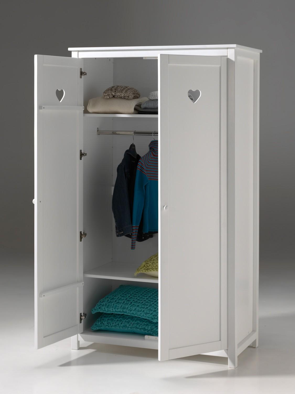 kleiderschrank amori 2 t rig wei kinder. Black Bedroom Furniture Sets. Home Design Ideas