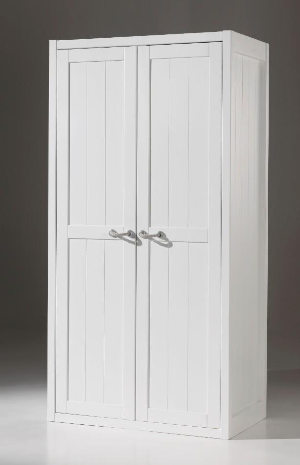 kleiderschrank lewis 2 t rig wei kinder jugendzimmer kleiderschr nke. Black Bedroom Furniture Sets. Home Design Ideas