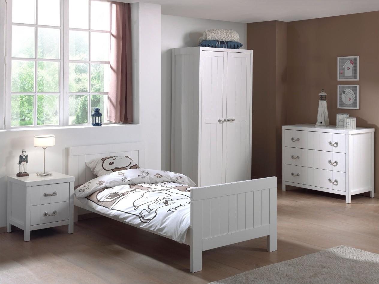 Jugendzimmer LEWIS - komplett mit Einzelbett, Kommode ...