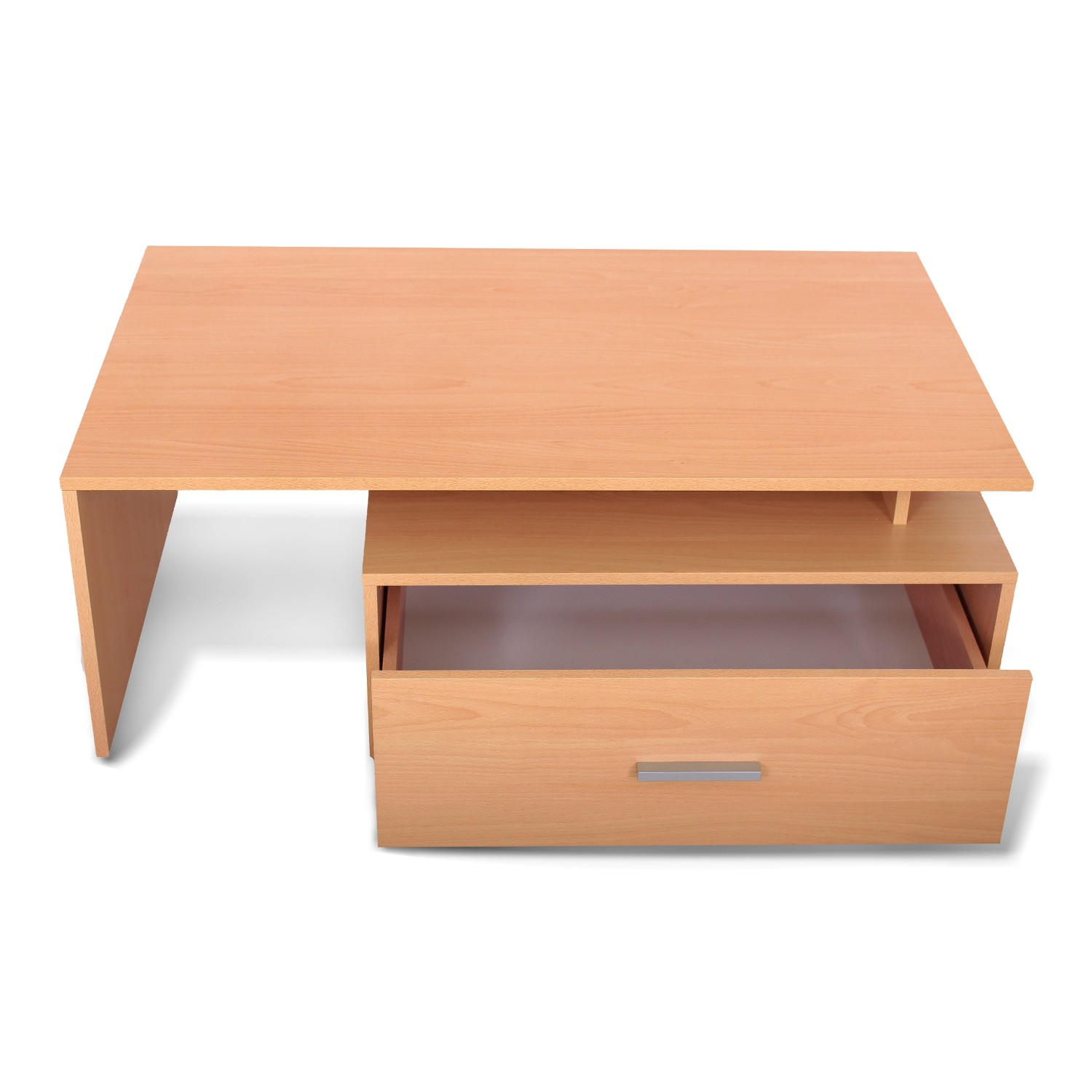 couchtisch padua tischplatte 100 x 60 cm 1 schublade buche wohnen couchtische. Black Bedroom Furniture Sets. Home Design Ideas