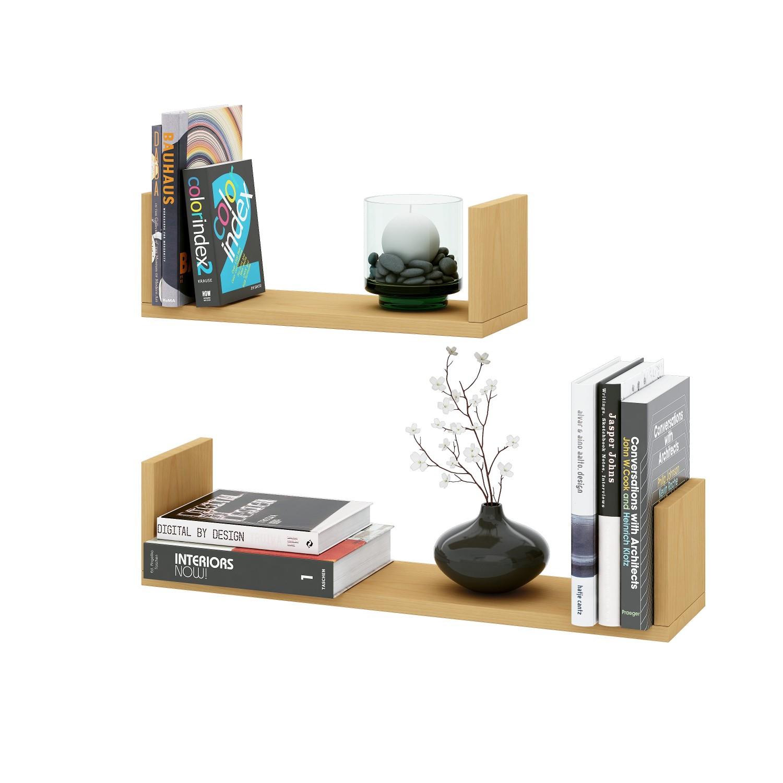 wandboard braga 2er set 40 und 60 cm breit buche wohnen regale. Black Bedroom Furniture Sets. Home Design Ideas