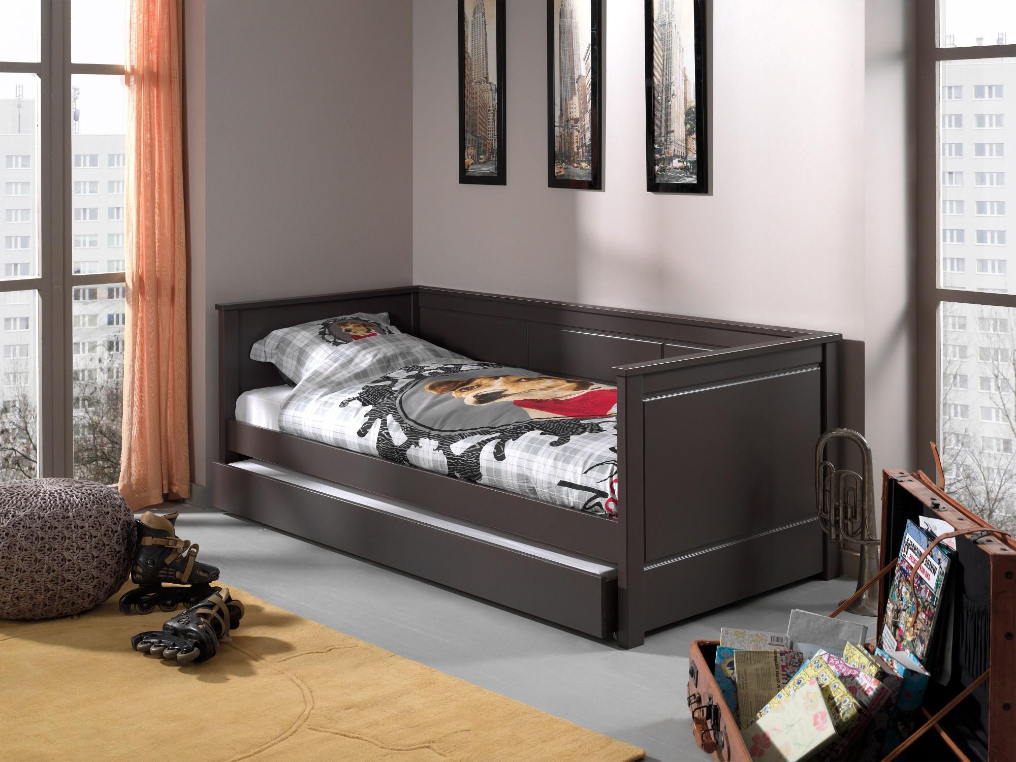 Bett mit bettkasten kinder  Kojenbett PINO - mit Bettschublade - Liegefläche 90 x 200 cm ...