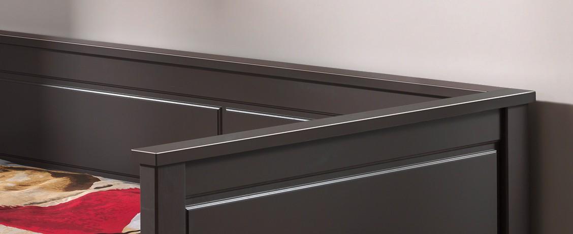 kojenbett pino jugendbett g stebett mit bettschublade kiefer anthrazit ebay. Black Bedroom Furniture Sets. Home Design Ideas