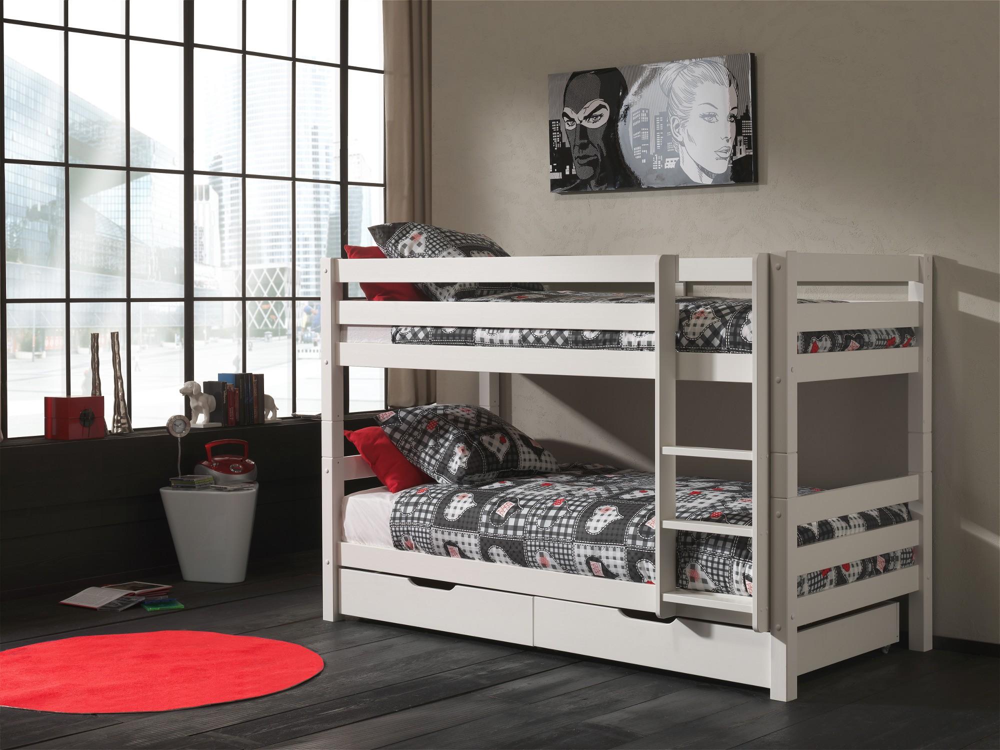Etagenbett Kinder Weiß : Kinder etagenbett online kaufen furnart