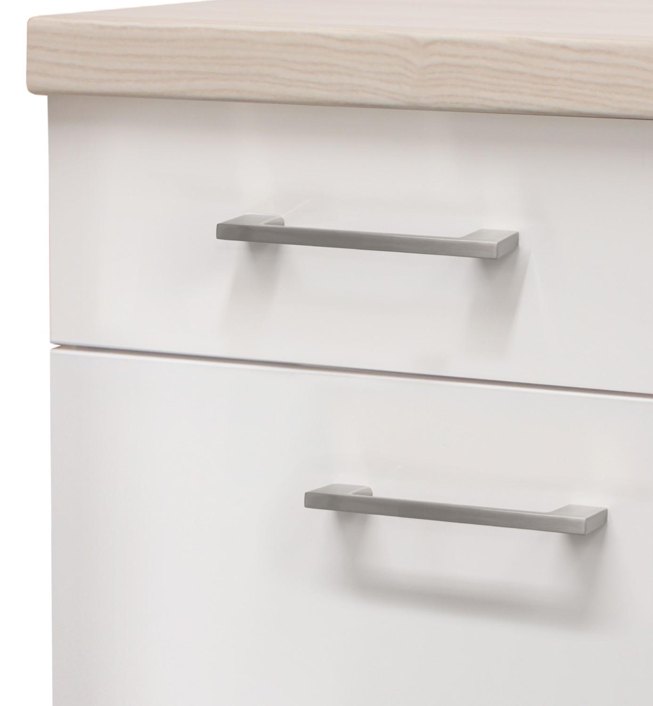 Küchen-Unterschrank FLORENZ - 1-türig - 30 cm breit - Perlmutt Weiß ...