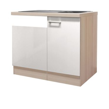 Küchen Spülcenter FLORENZ   1 Türig, Für Teilintegrierten Geschirrspüler    110 Cm Breit