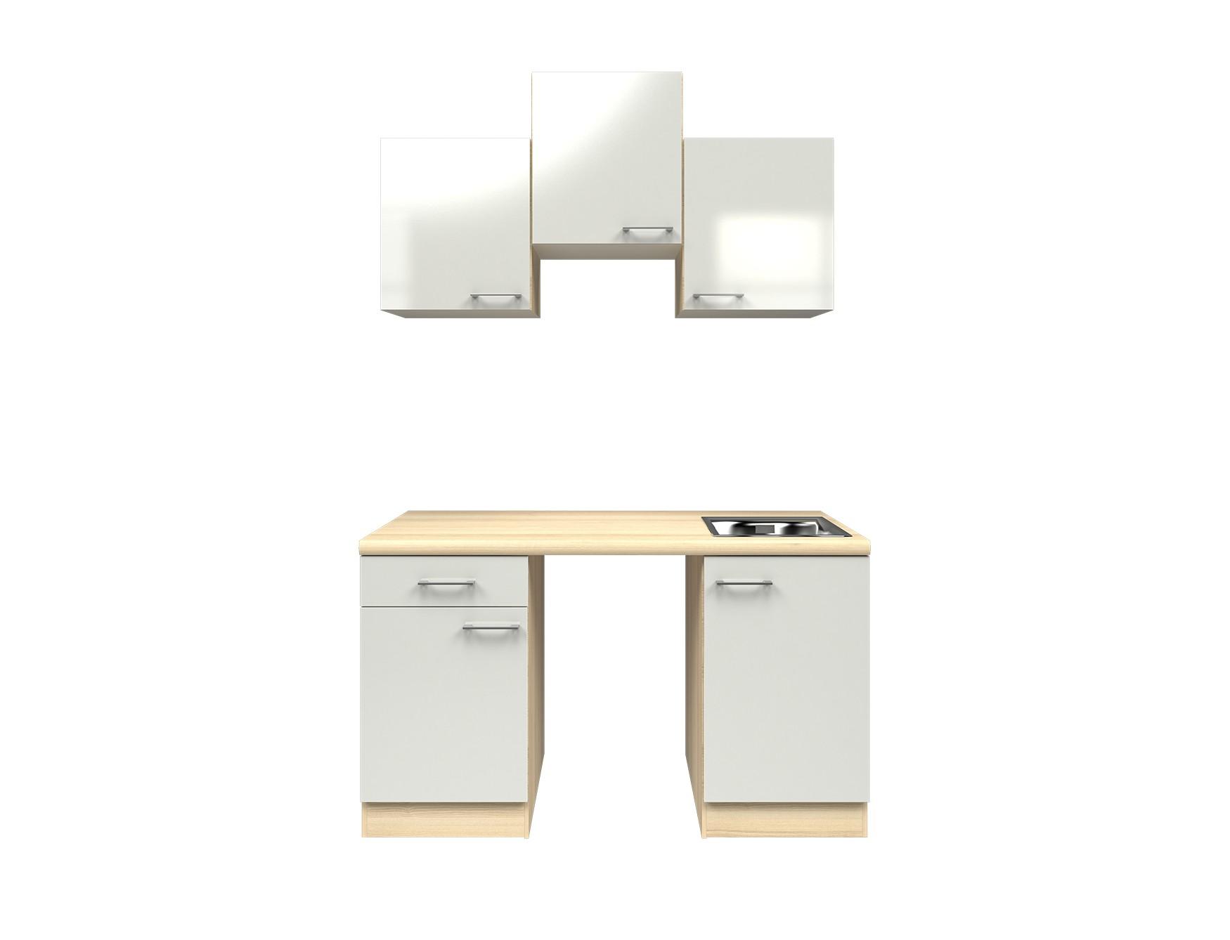 singlek che florenz k chen leerblock breite 150 cm perlmutt wei k che singlek chen. Black Bedroom Furniture Sets. Home Design Ideas