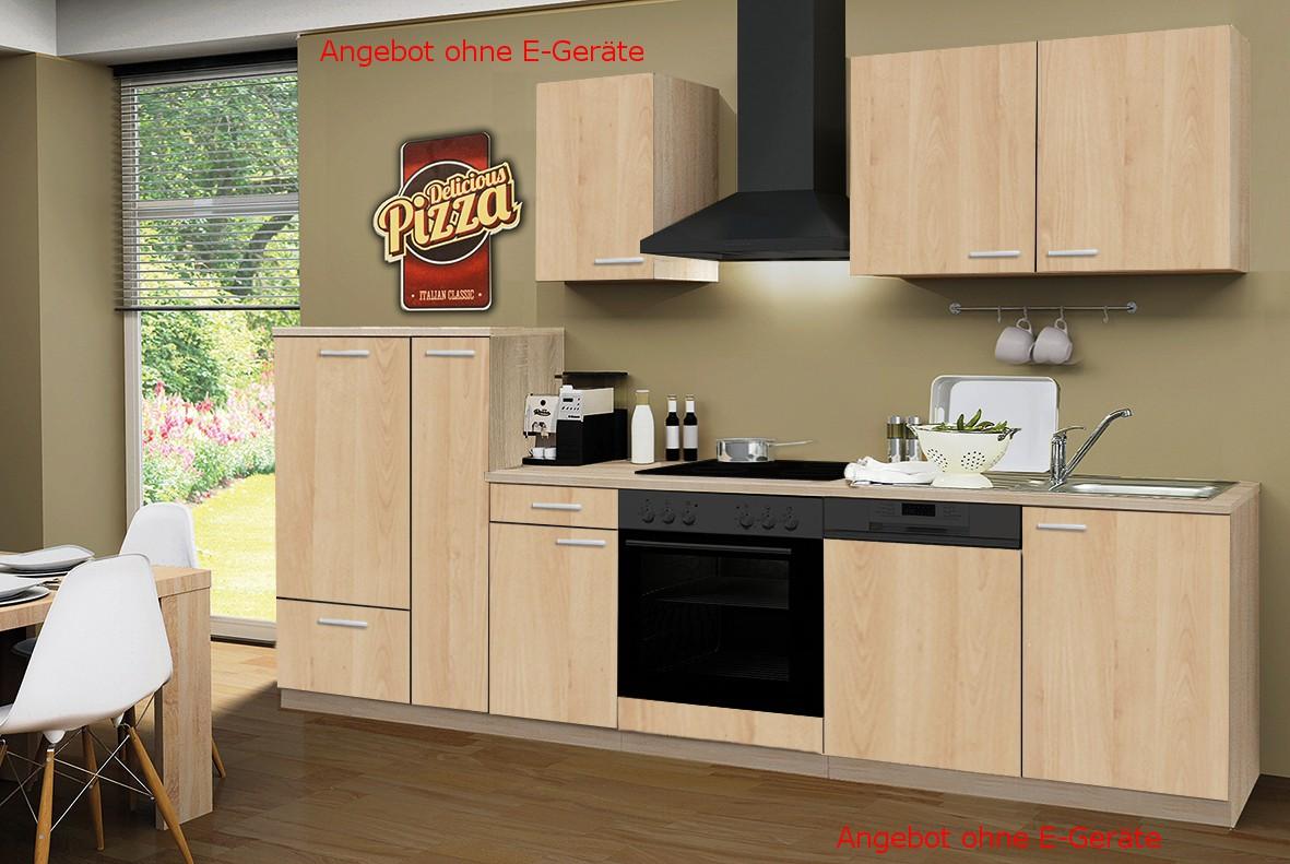 k chenblock g teborg k chen leerblock k chenzeile 300 cm. Black Bedroom Furniture Sets. Home Design Ideas