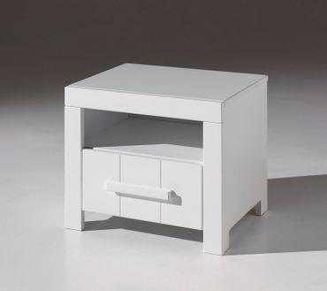 Nachttisch ERIK - Weiß