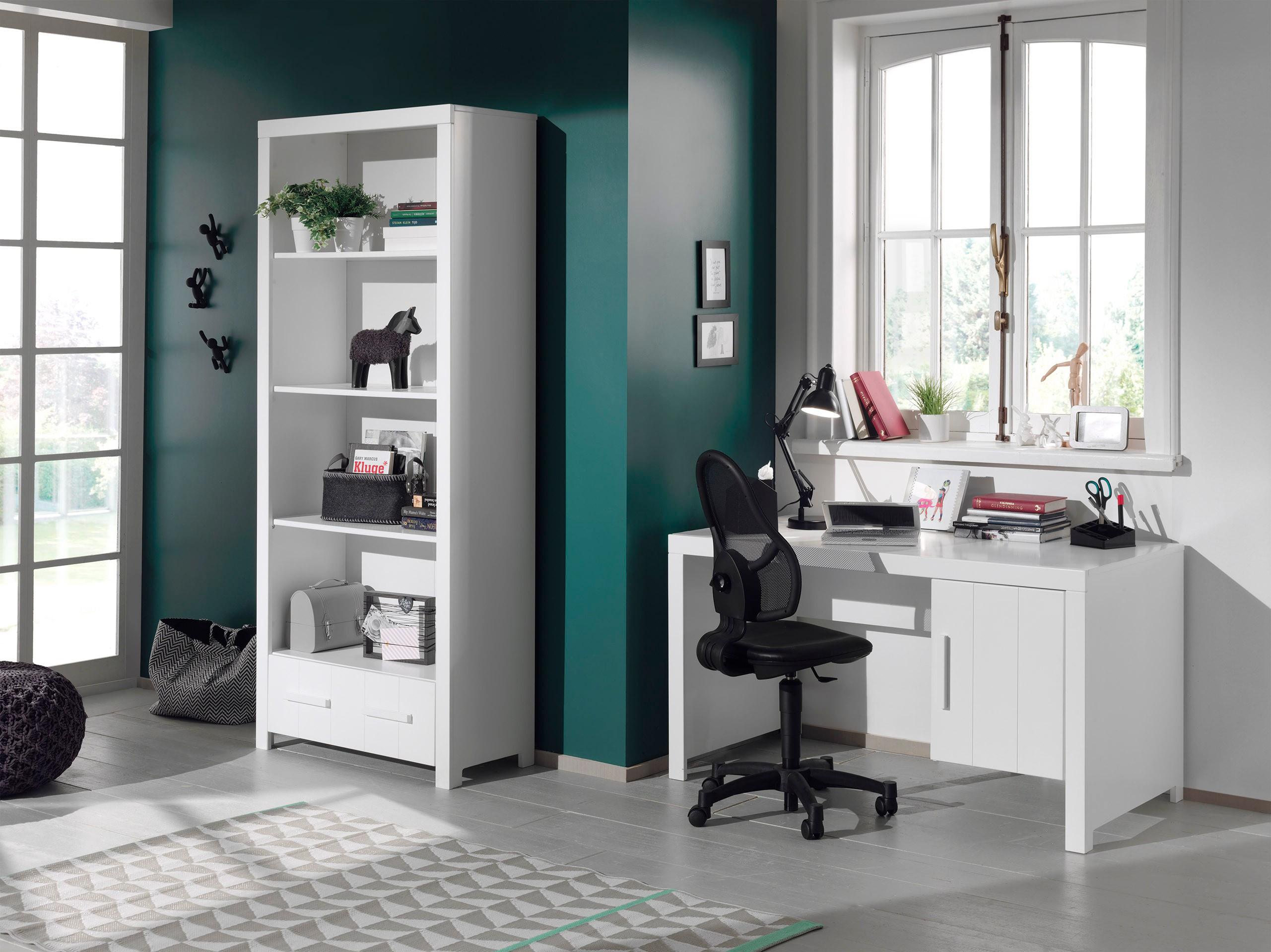 regal erik 1 schublade 4 f cher wei kinder. Black Bedroom Furniture Sets. Home Design Ideas