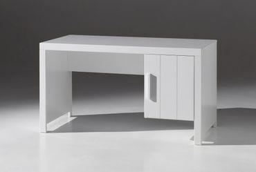 Schreibtisch ERIK - 1 Tür - Weiß