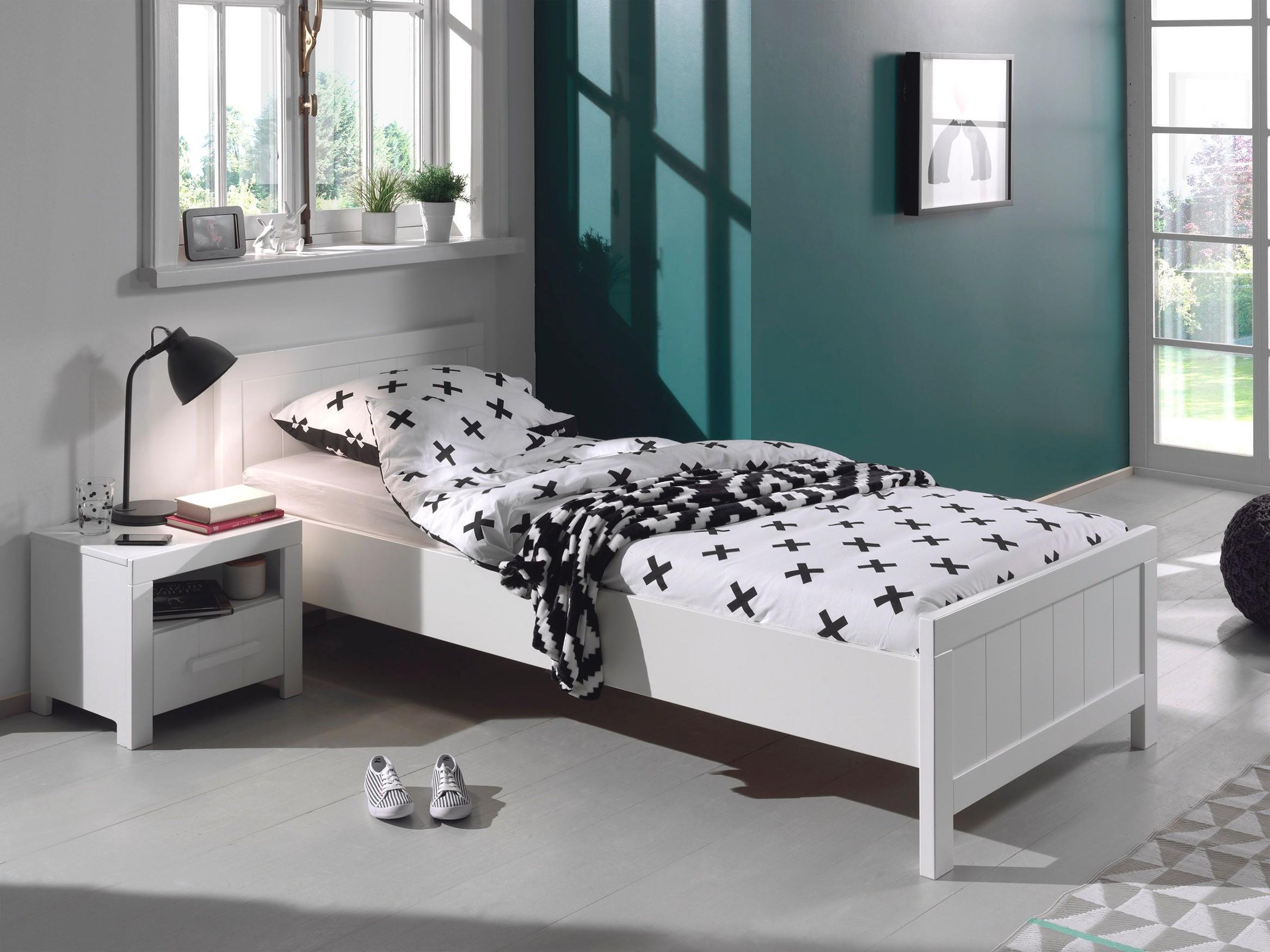 jugendzimmer erik mit bett liegefl che 90 x 200 cm und. Black Bedroom Furniture Sets. Home Design Ideas