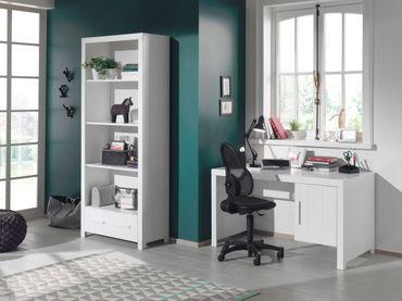 Jugendzimmer ERIK - komplett mit Schreibtisch und Regal