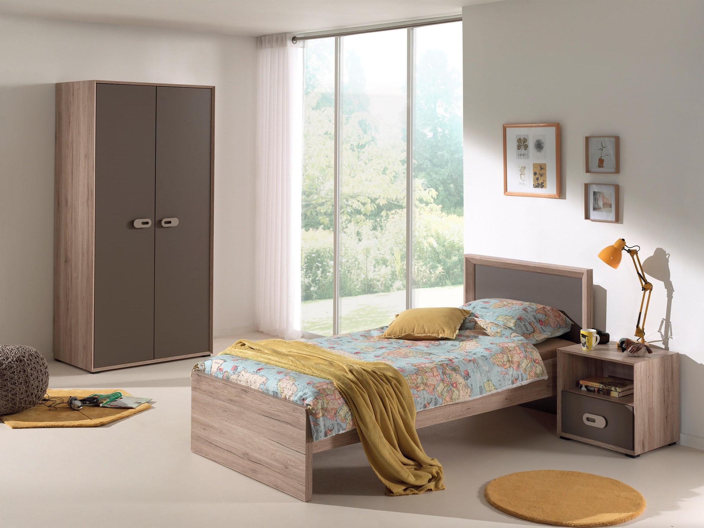 Jugendzimmer emiel 3 teilig mit kleiderschrank 2 t rig kinder jugendzimmer sets - Hochwertige jugendzimmer ...