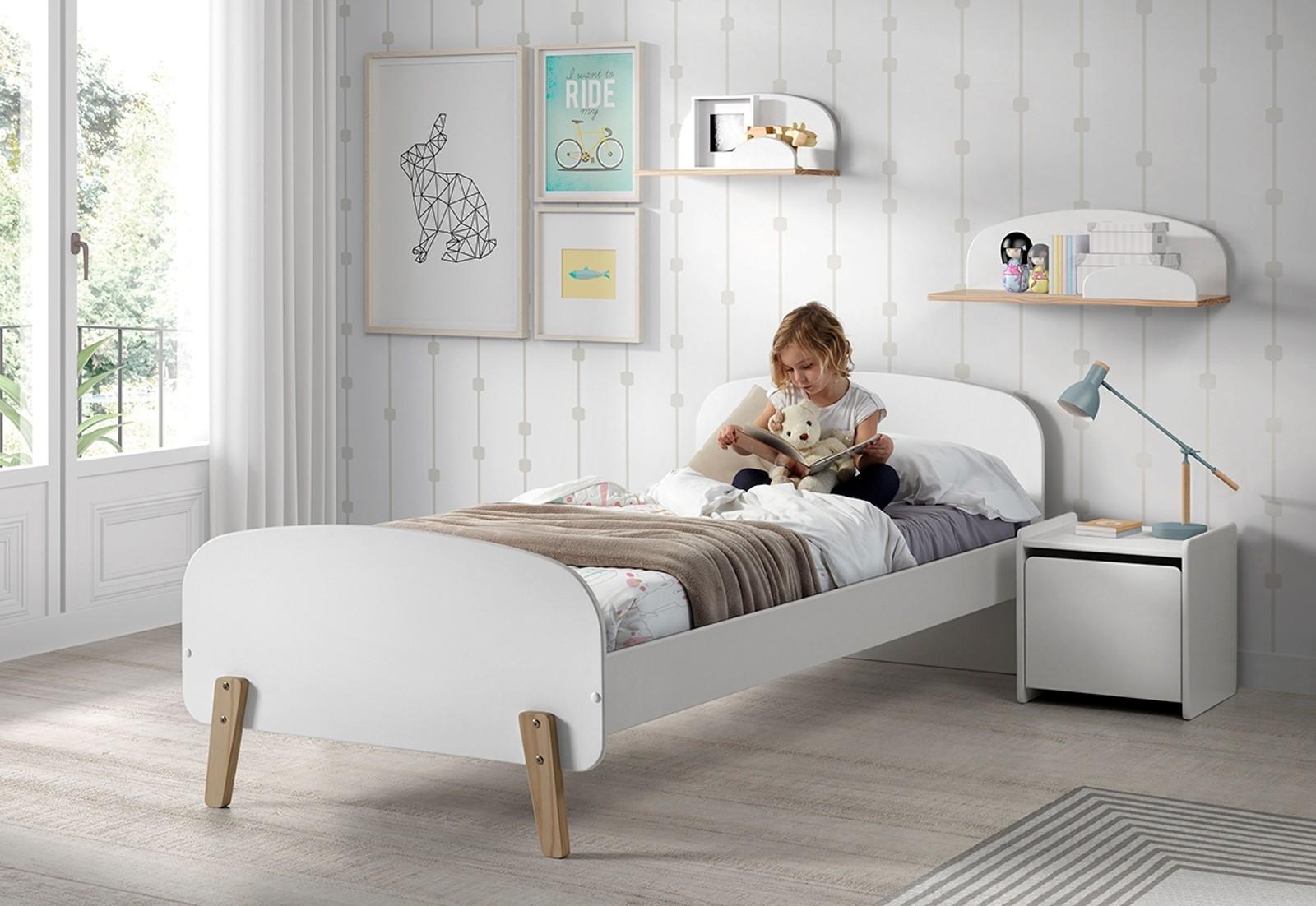 wandregal kiddy 60 cm breit wei kinder jugendzimmer. Black Bedroom Furniture Sets. Home Design Ideas