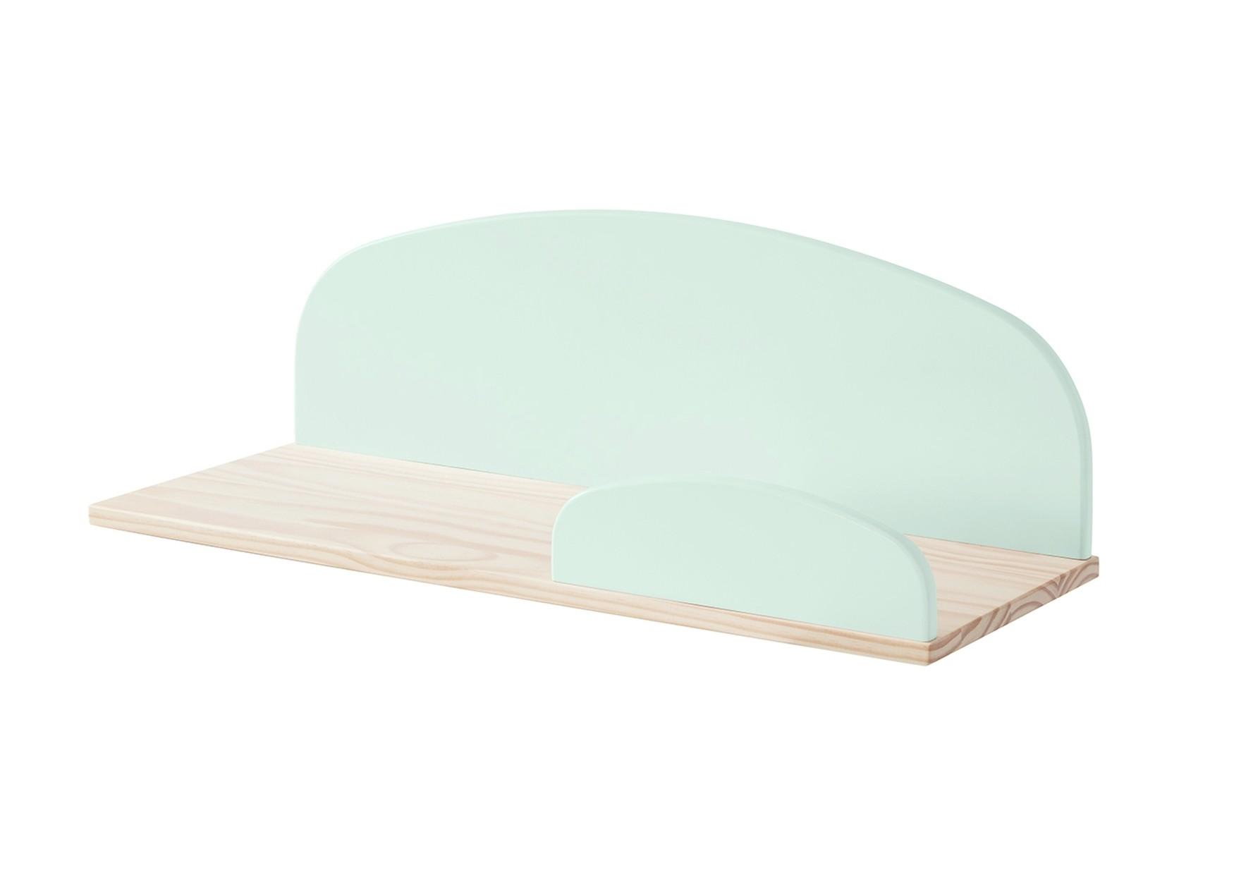 wandregal kiddy 60 cm breit mint gr n kinder jugendzimmer regale. Black Bedroom Furniture Sets. Home Design Ideas