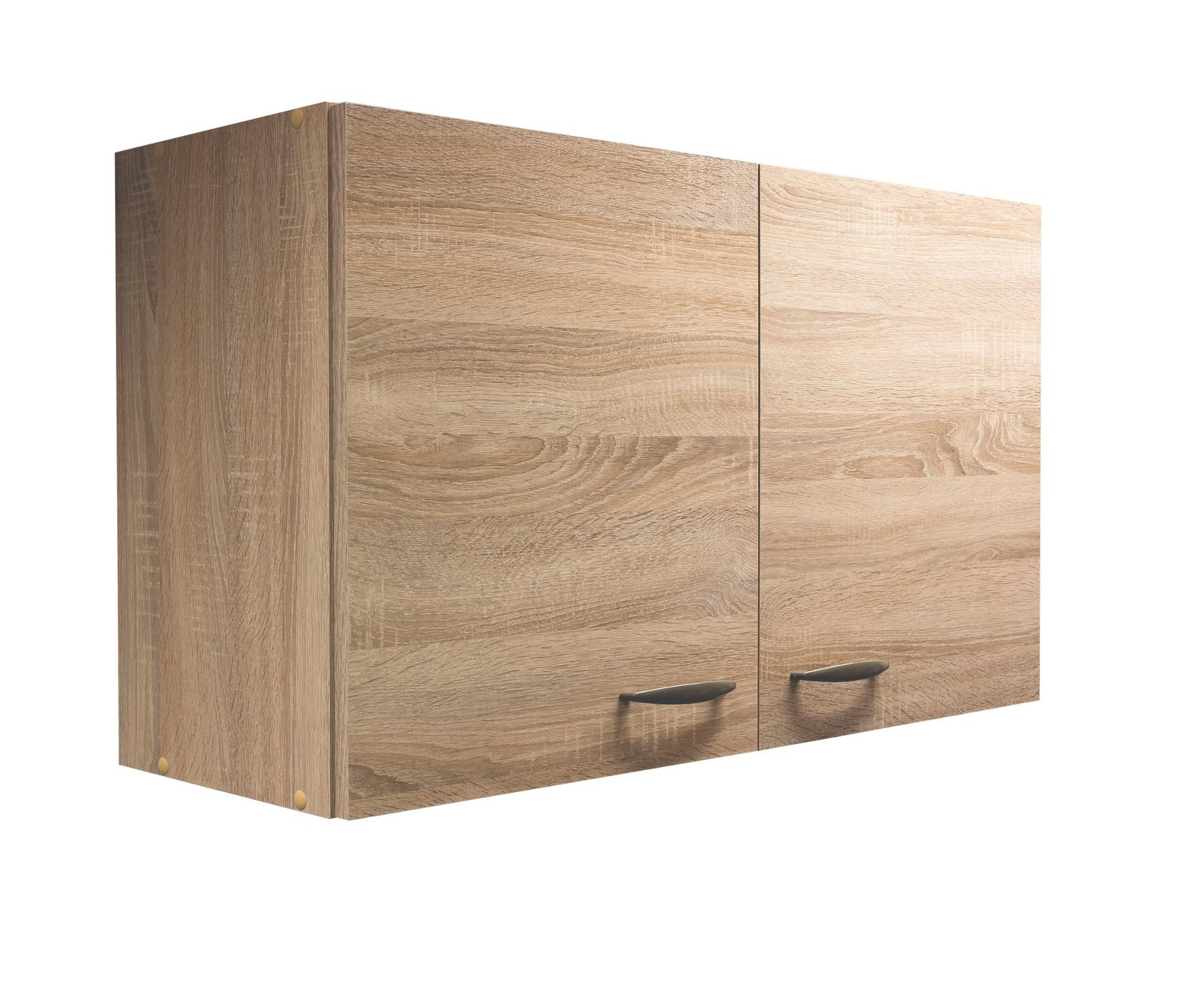 k chen h ngeschrank herne 2 t rig 100 cm breit eiche sonoma k che k chen h ngeschr nke. Black Bedroom Furniture Sets. Home Design Ideas
