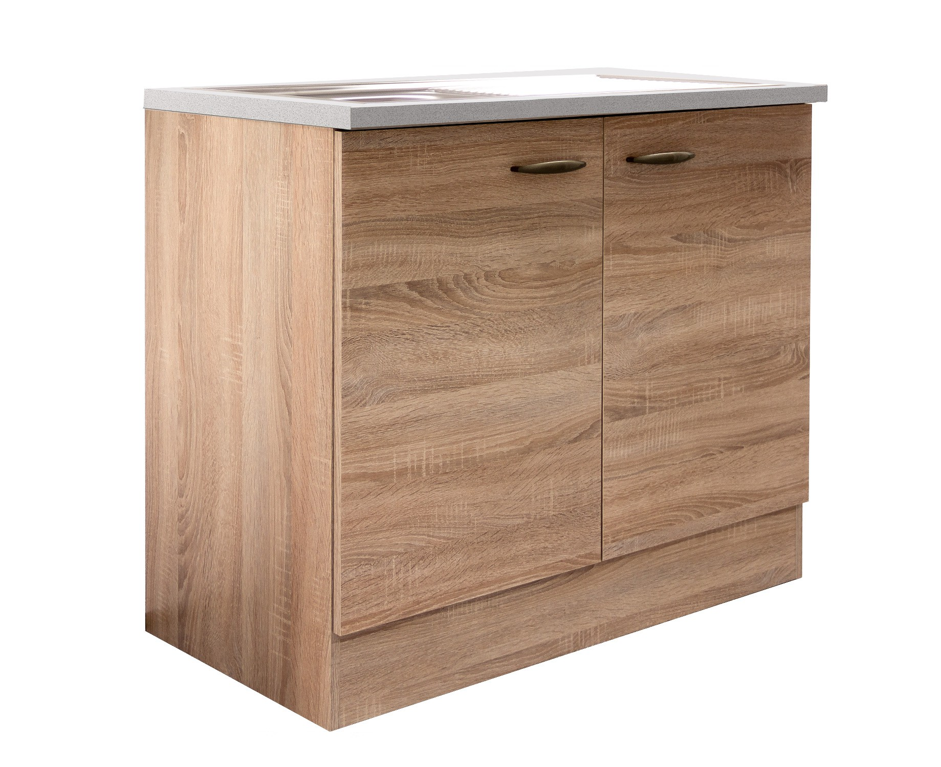 sp lenschrank herne k che sp le sp lschrank 100 x 60 cm eiche sonoma ebay. Black Bedroom Furniture Sets. Home Design Ideas