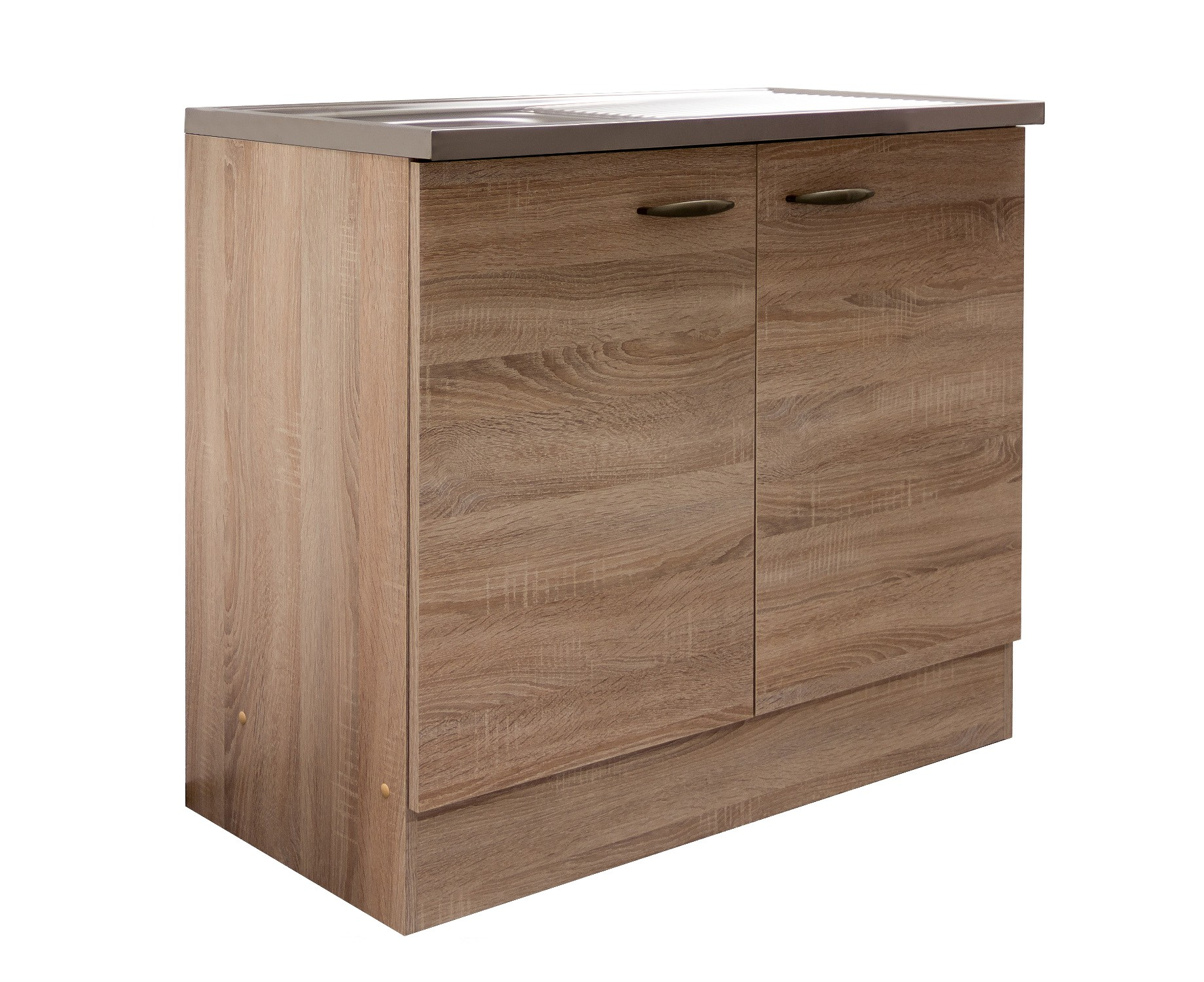 sp lenschrank herne k che sp le sp lschrank 100 cm breit 50 cm tief eiche sonoma ebay. Black Bedroom Furniture Sets. Home Design Ideas