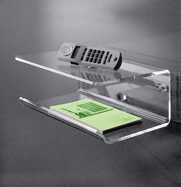 Telefonboard NEW YORK - 35 cm Breite - Acrylglas