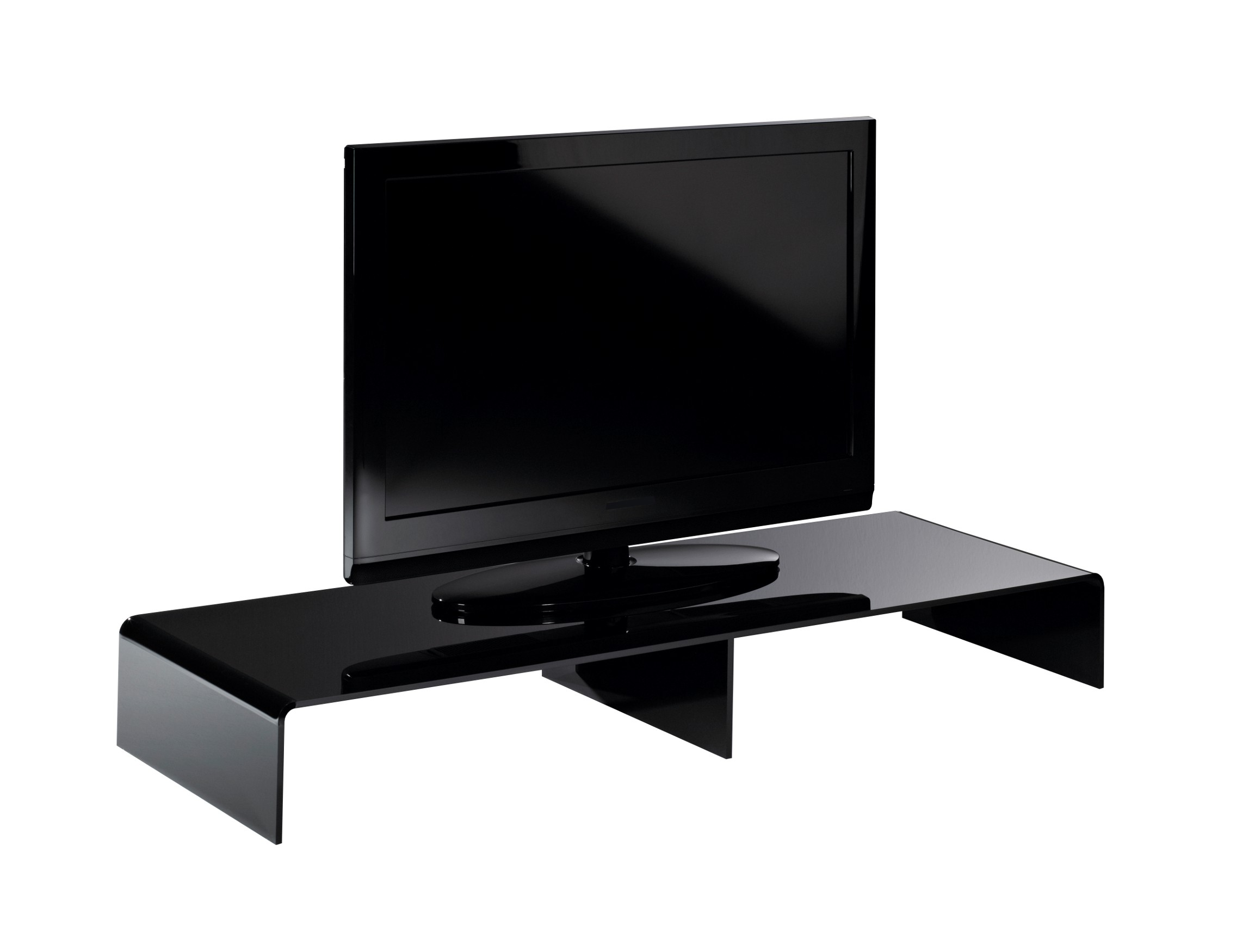 tv konsole new york breite 120 cm acrylglas schwarz wohnen tv m bel tv lowboards. Black Bedroom Furniture Sets. Home Design Ideas