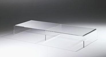 TV-Konsole NEW YORK - Breite 80 cm - Acrylglas