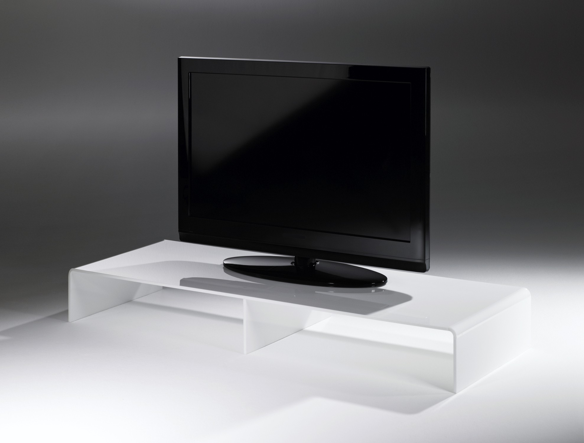 tv konsole new york breite 110 cm acrylglas wei wohnen tv m bel tv lowboards. Black Bedroom Furniture Sets. Home Design Ideas